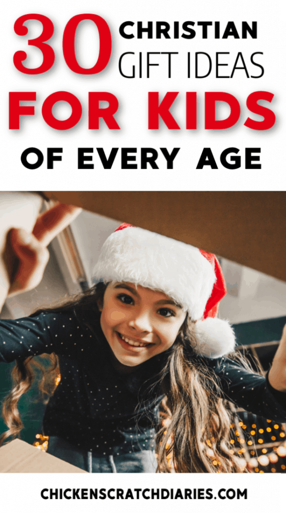 Christian gifts for kids this Christmas. Over 30 ideas for kids of every age. #Christmas #Gifts #Christian #Parenting #Holidays