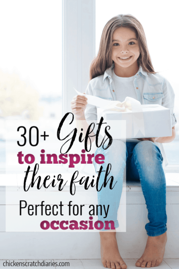 These Christian gifts for kids are great for birthdays, Christmas, Valentine's day or any occasion you want to give a meaningful gift. #Gifts #Kids #Birthdays #Holidays #Celebrate #ChristianKids