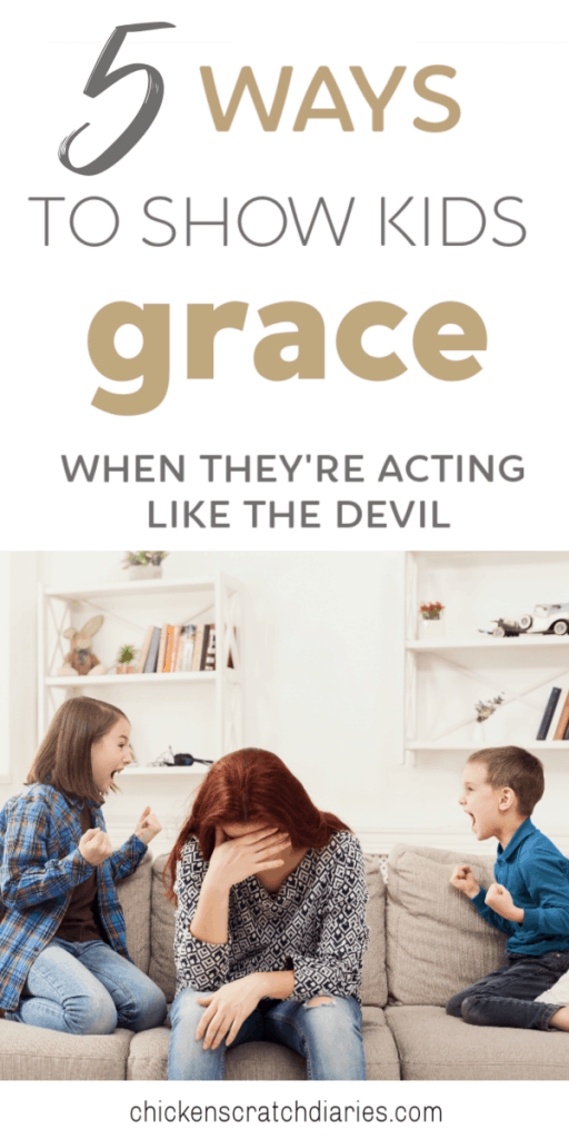 Showing kids God's grace when they least deserve it; this is what it means to love like the Savior. #Grace #Parenting #Kids #Forgiveness #ChristianParenting
