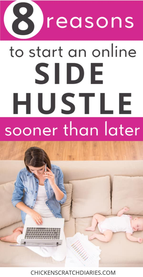side hustle or online business benefits