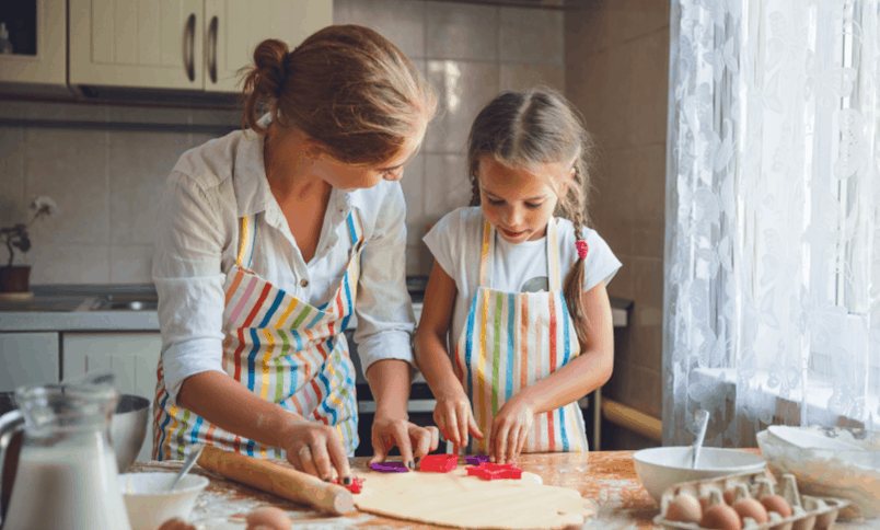Intentional Parenting: cooking with kids