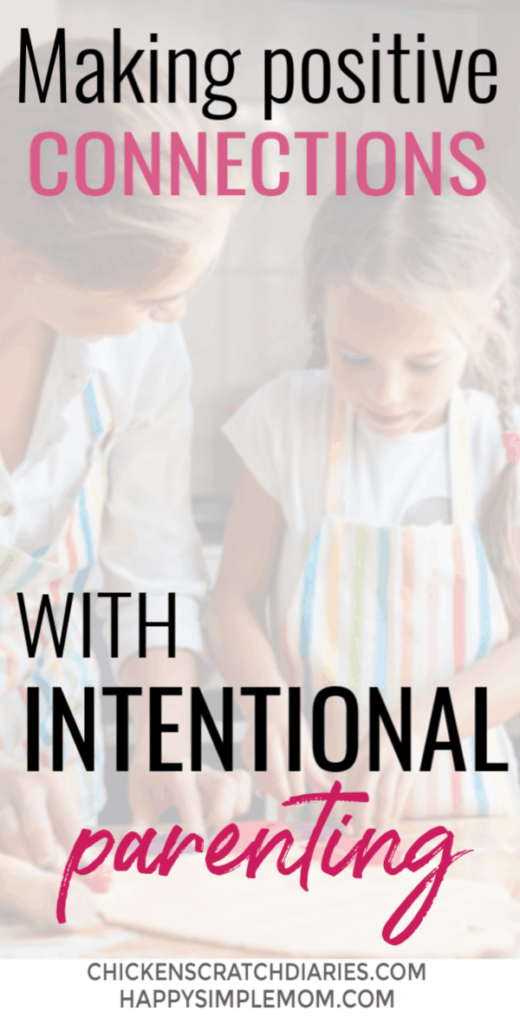 Intentional parenting tips from a mom who went from fast-paced corporate life to a slower, simpler pace focused on making moments count. #Intentional #Parenting #Motherhood