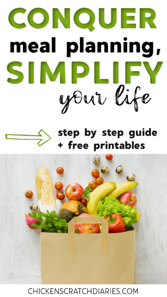 Meal planning on a budget is made simple with this guide for beginners, including free printable templates (menu, grocery list and more). #MealPlanning #CookingTips #Printables #OrganizingLife #Budgeting