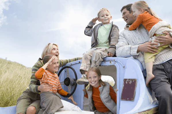 Having four kids: is having a big family even realistic today? Here's what you might not know: the humor, the joy and the organization that's required.