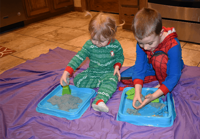 Kinetic Sand: Indoor Activities for Kids