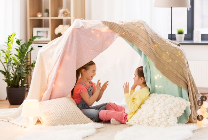 Indoor fort - activity idea