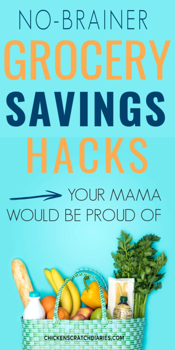 Grocery savings hacks