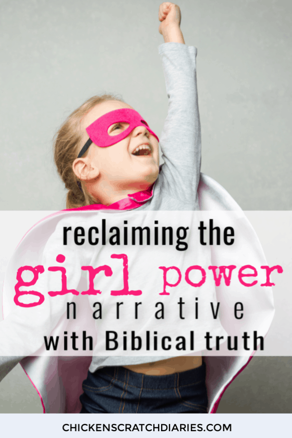 Teaching girls self-worth, confidence and strength that comes from knowing God as Creator and sustainer. #ChristianParenting #GirlPower #SelfWorth