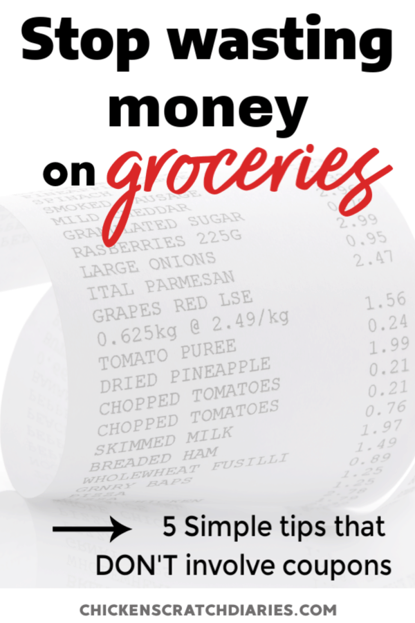 Cutting expenses? Save money on groceries with these frugal (but smart) ideas for families on a budget. #Groceries #Budget #Frugal #SaveMoney