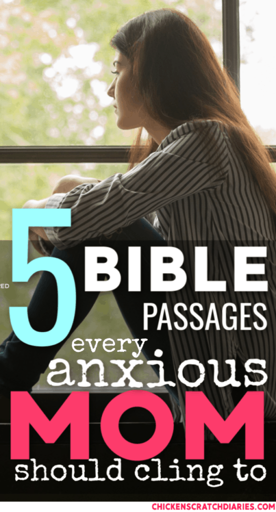 Bible verses about worry and anxiety: understanding how God's Word can bring peace to the anxious mom's heart. #ChristianMotherhood #Worry #Anxiety #Parenting