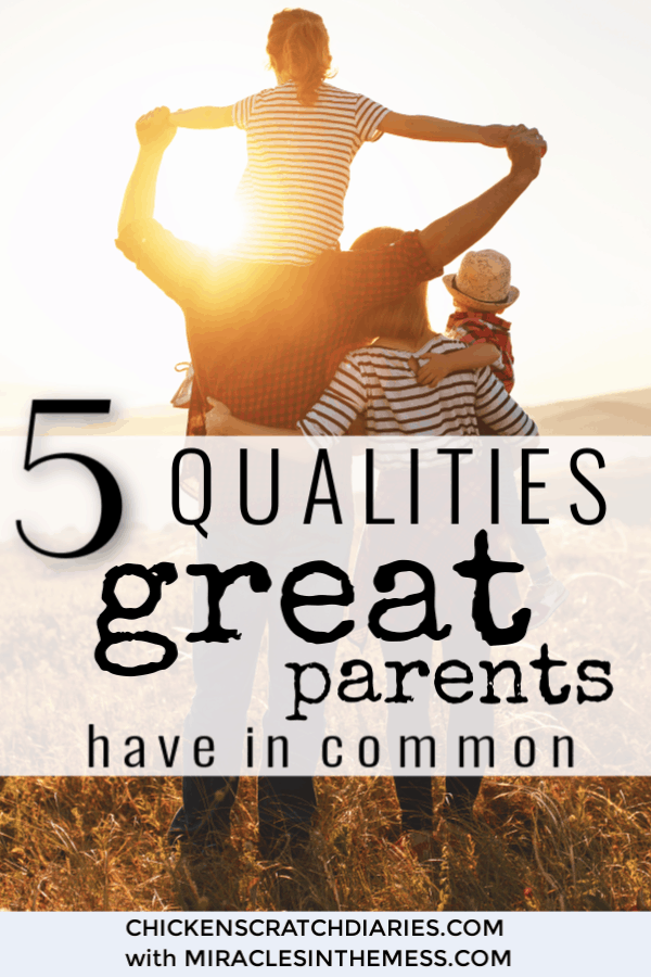 Being a good parent might be less complicated than we think. You can be an awesome parent by adopting these 5 simple qualities. #Parenting #Advice #PositiveParenting #Motherhood