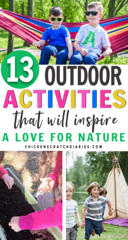 13 outdoor activity ideas for kids