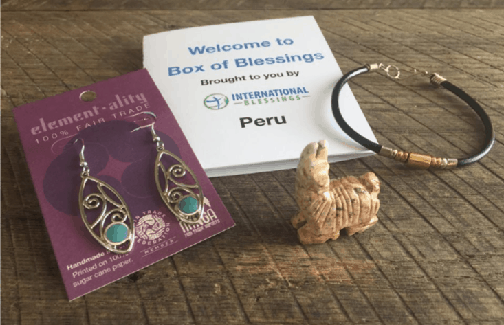 Image of handmade items from International Blessings