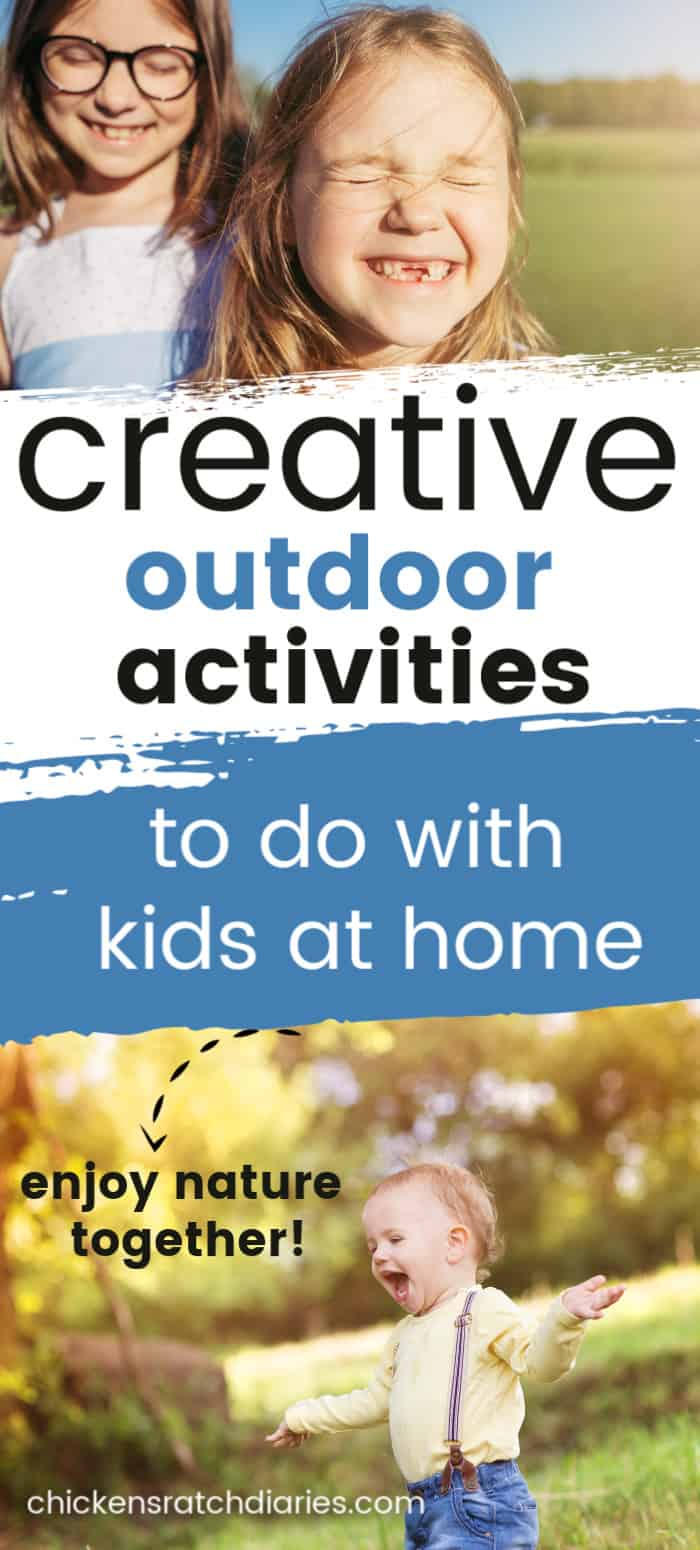 nature activities for kids at home