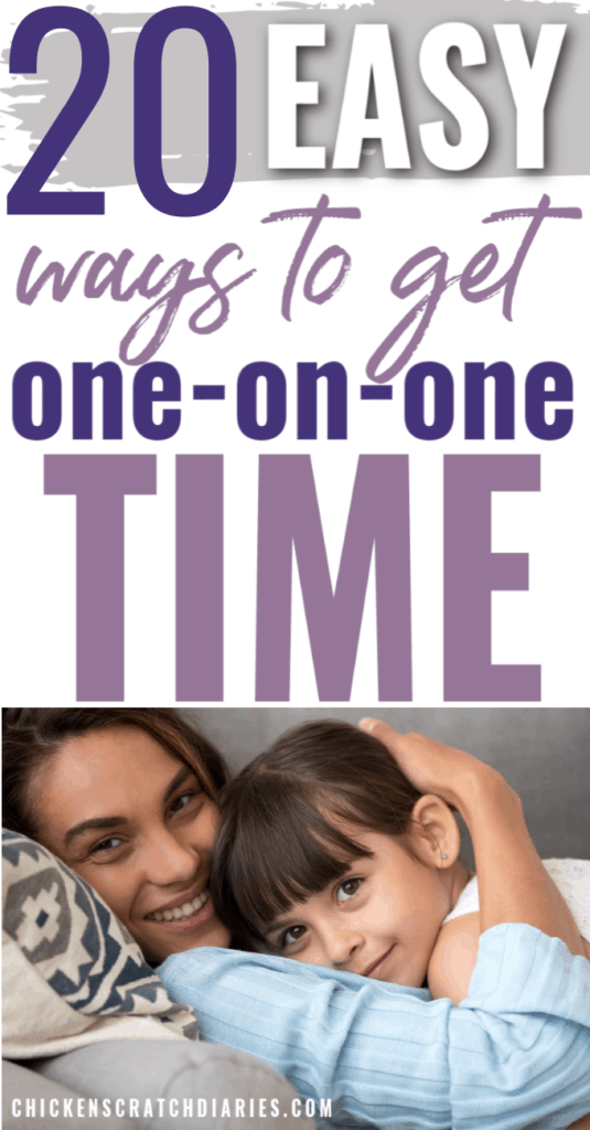 20 One-on-One Time Ideas for Parents
