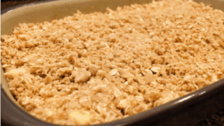 Easy, Delicious Apple Crisp Recipe (for a crowd)