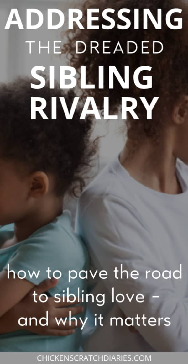 sibling rivalry: tips for Christian parents