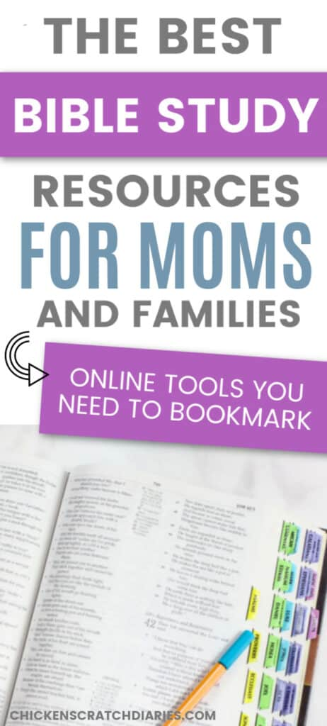 Bible study helps online