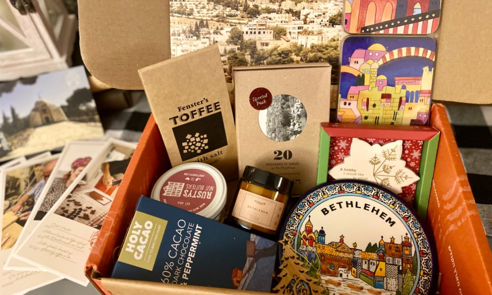artza subscription box from Israel
