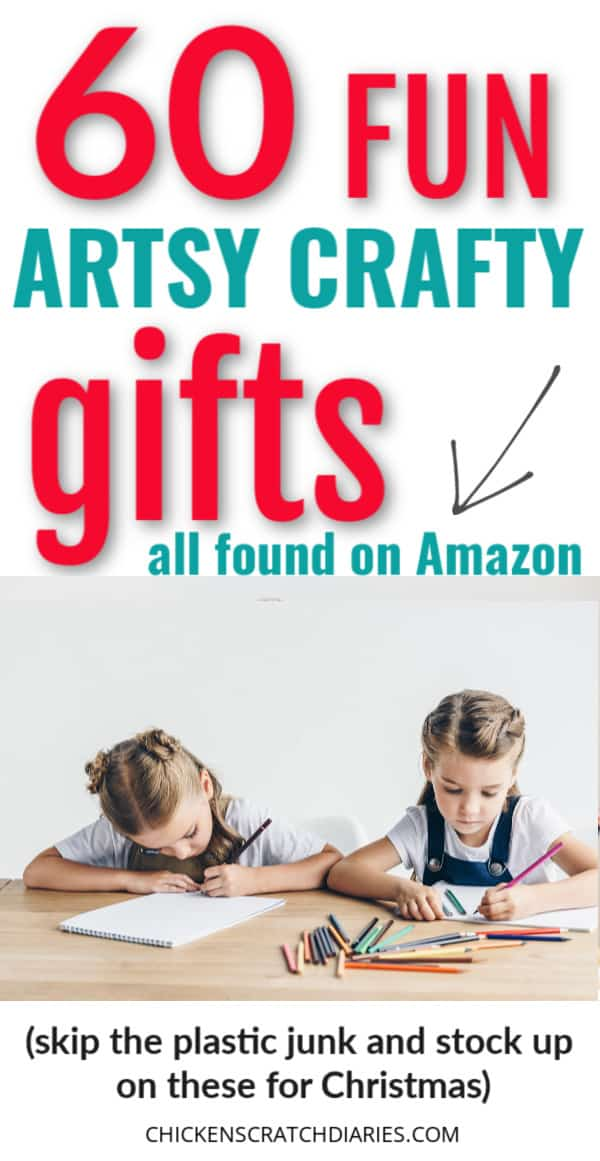 fun arts and craft gifts for kids