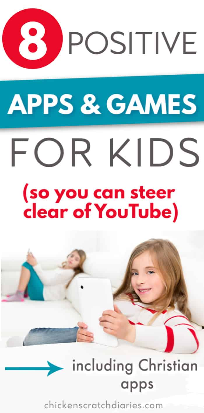 Christian and positive games and apps for kids