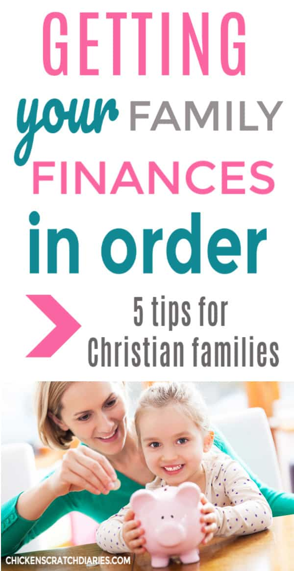 personal finance tips for christian families