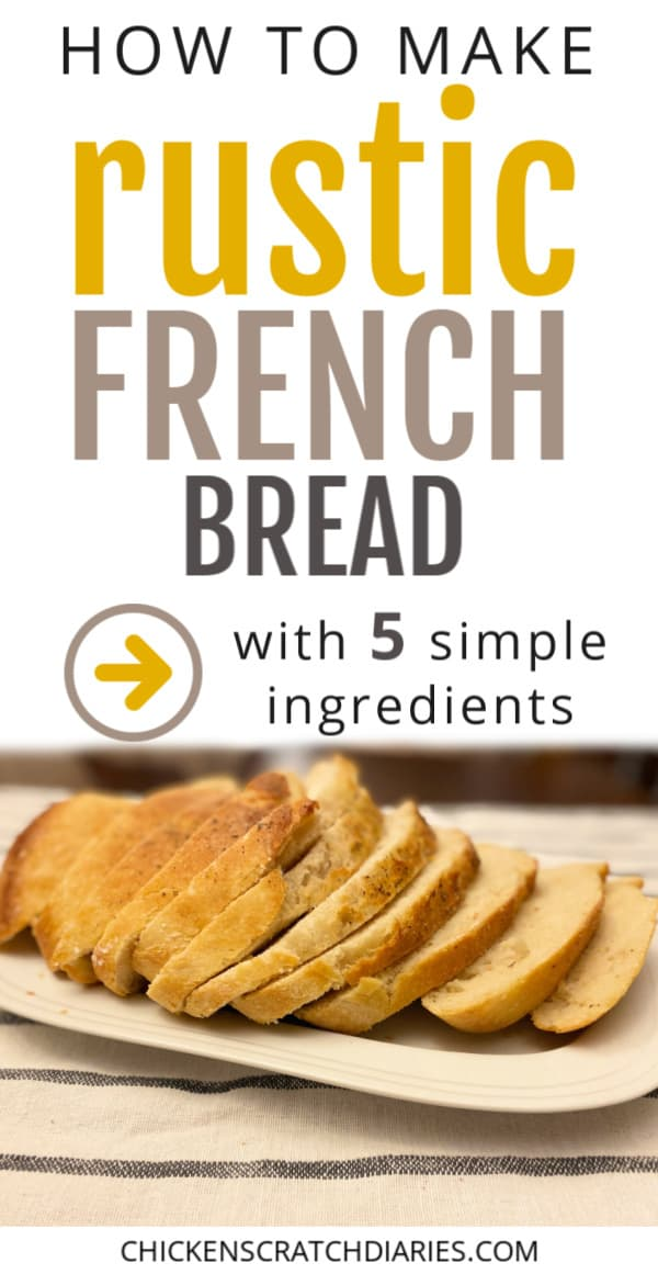 how to make rustic french bread