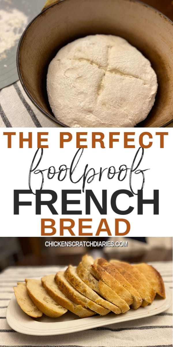 Perfect foolproof french bread recipe