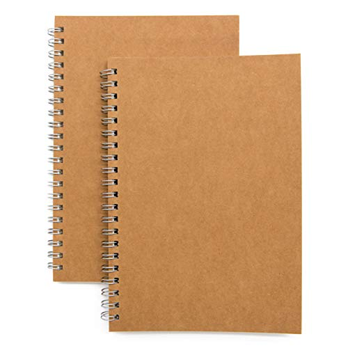 Soft Cover Spiral Sketchbook 2-Pack