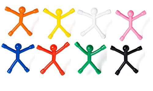 MagMen Magnets {10 Pack} All in one Fun Flexible Magnetic Men