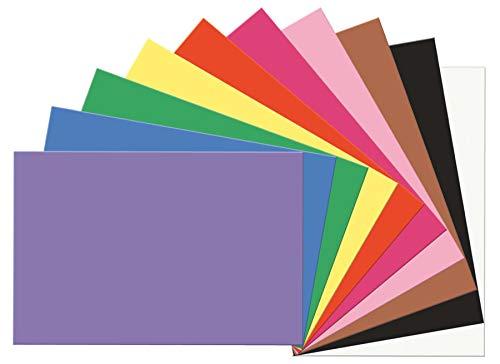 SunWorks Construction Paper, 10 Assorted Colors