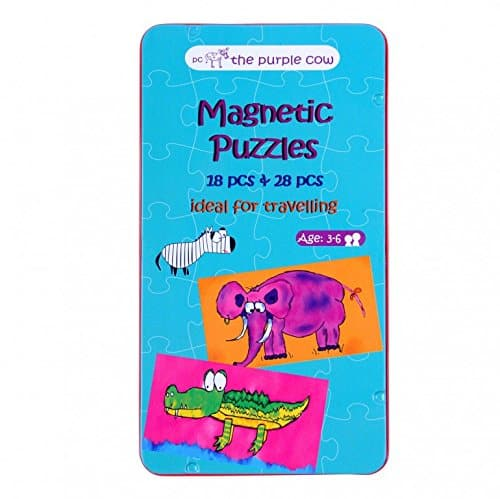 The Purple Cow Magnetic Puzzle Box