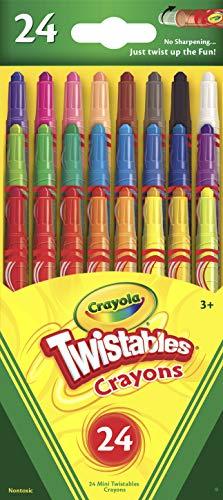 Crayola Mini Twistables Crayons, 24