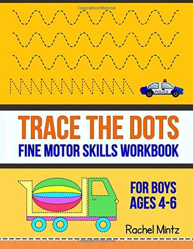 Trace The Dots - Fine Motor Skills Workbook