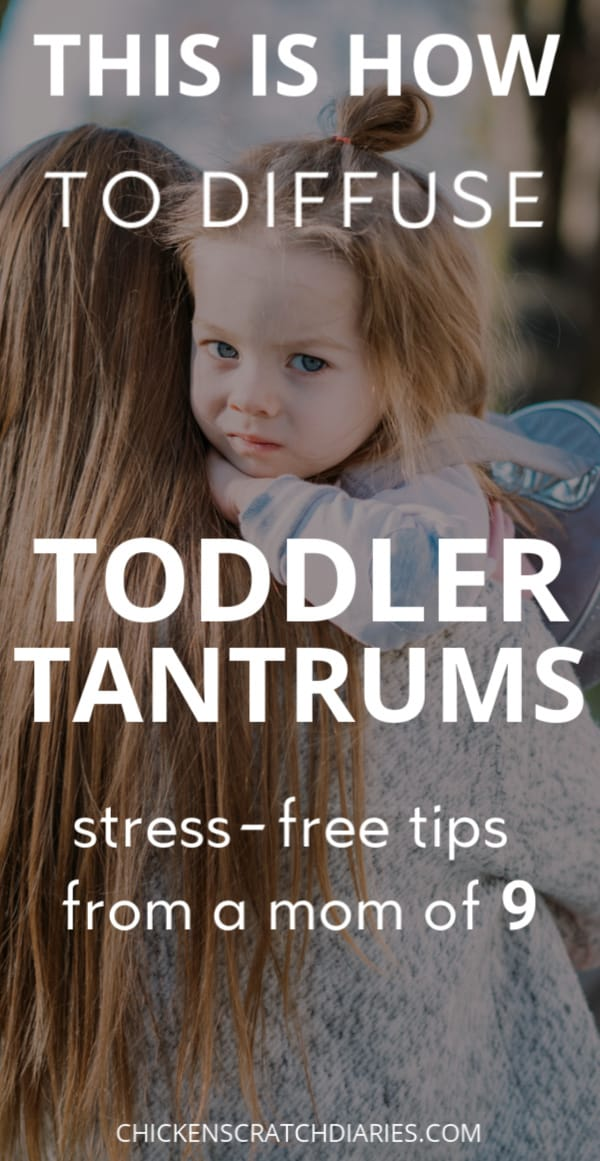 How to end toddler tantrums