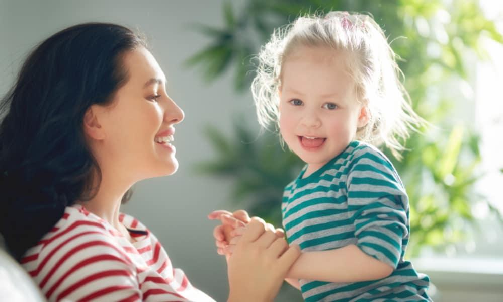 Using humor to stop toddler tantrums
