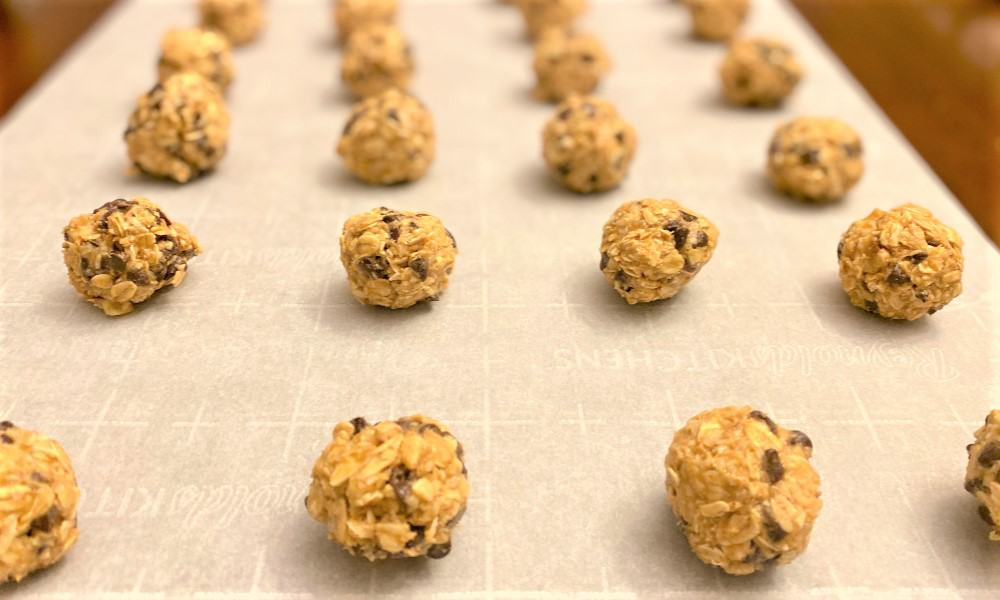 energy balls for kids- finished product