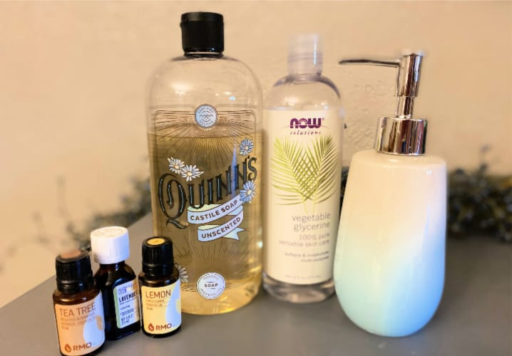 natural homemade face wash ingredients to use