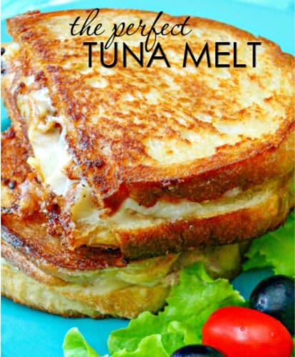 cheap lunch for kids- tuna melt