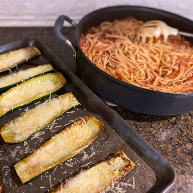 EveryPlate review: Zucchini Parmesan meal
