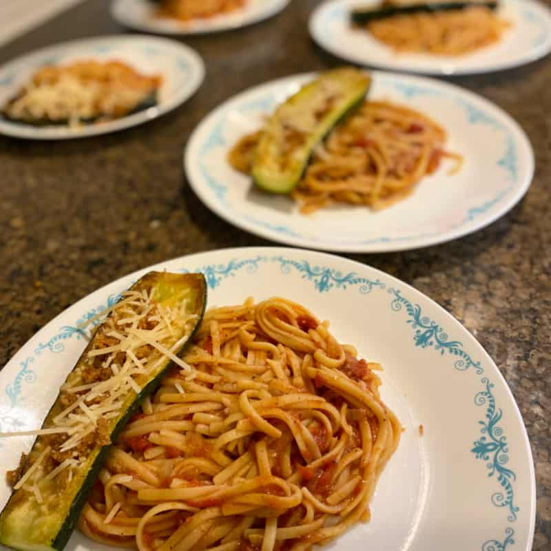 EveryPlate Review: Zucchini Parmesan