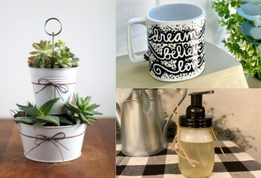 Simple DIY gifts for friends