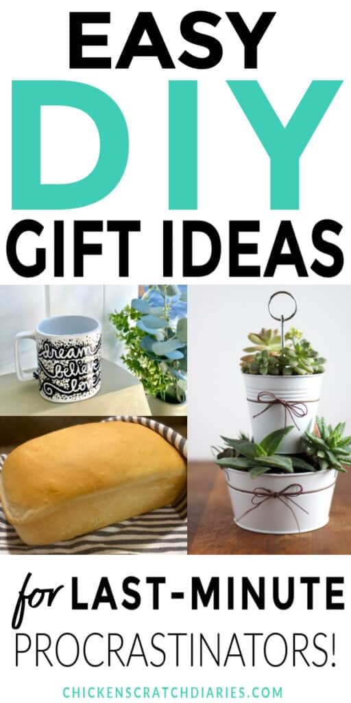 Easy DIY gifts for women