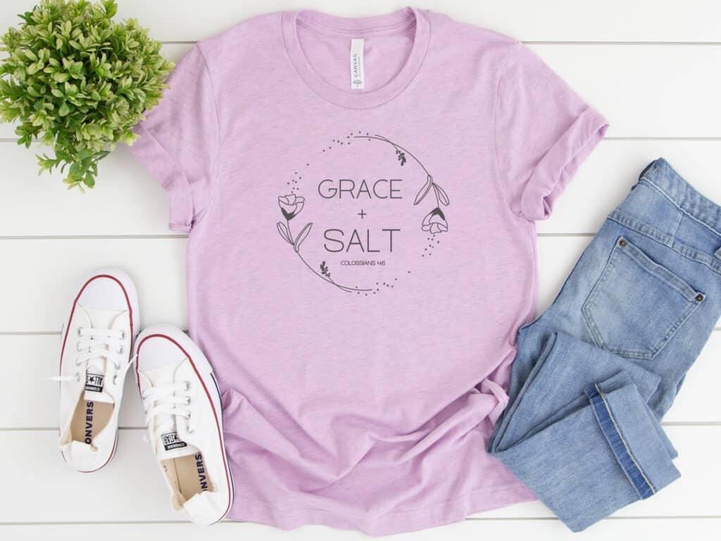 Grace + Salt tee product image