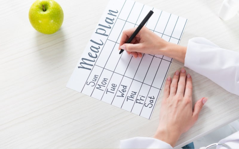 How a free meal plan template saves time-image
