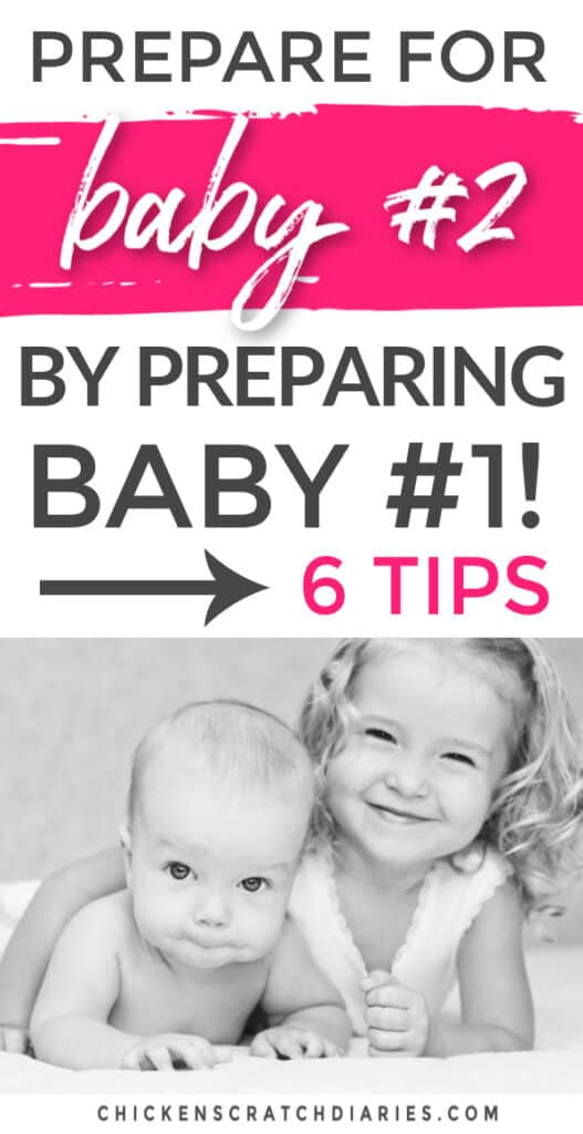 Prepare for baby number two by preparing child for new sibling