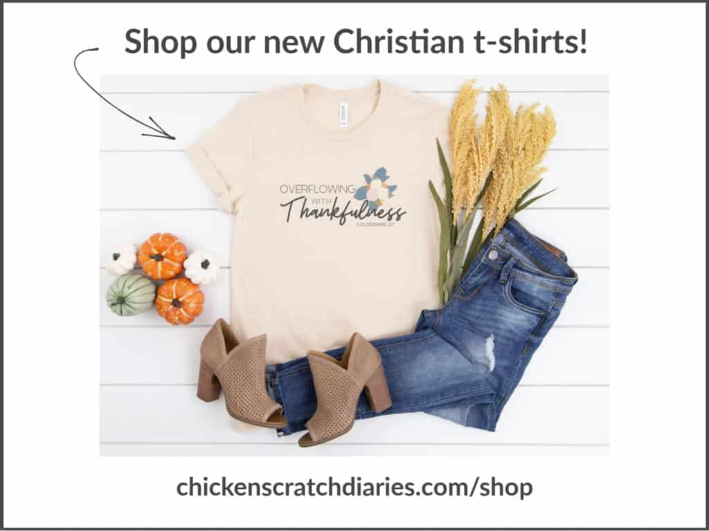 christian t-shirt products