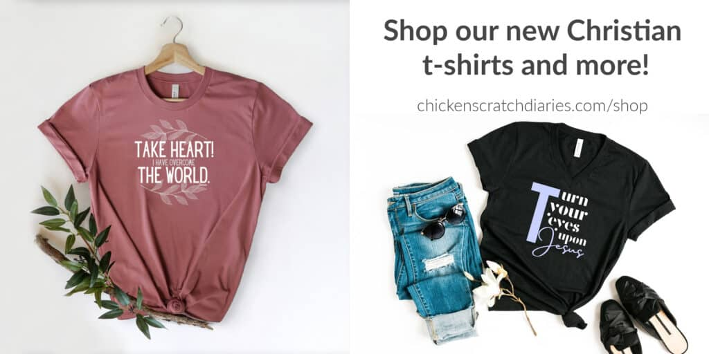 Christian t-shirts and more- link to shop