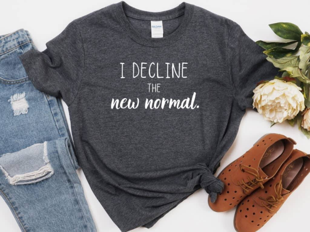 New Normal t-shirt image
