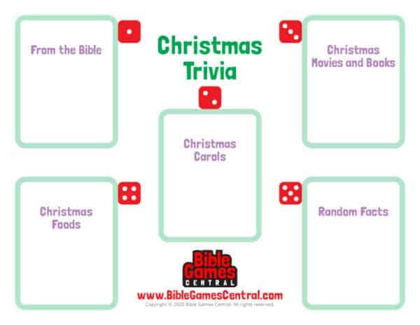 Christmas trivia printable game